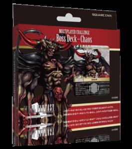 FF-TCG マルチプレイヤー対戦用デッキ Boss Deck - Chaos